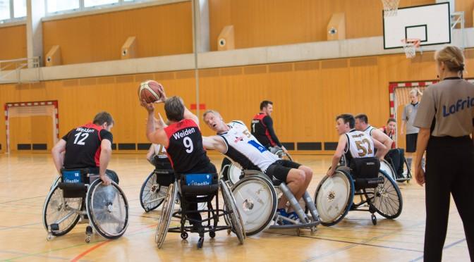 Internationales Rollstuhl-Basketballturnier in Wörgl/Tirol