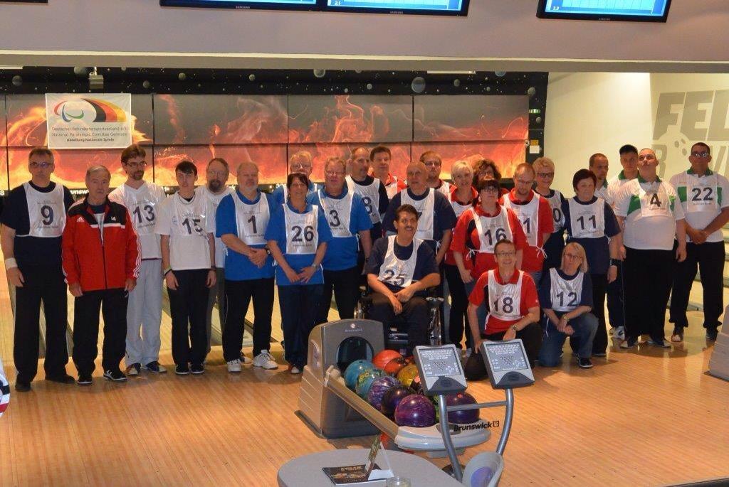 Teilnehmer an der Deutschen Meisterschaft im Bowling