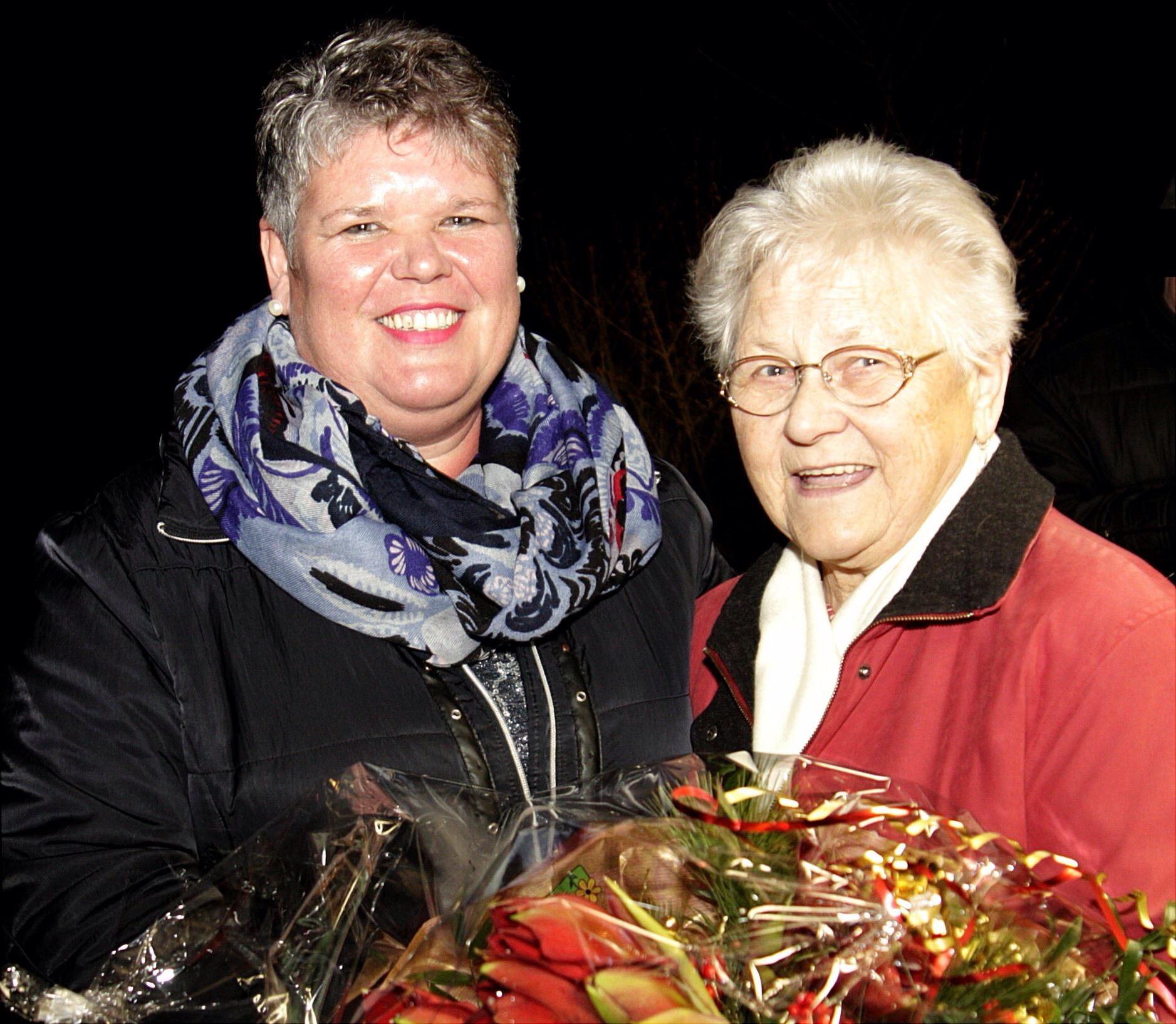 Sabine Birner und Irmgard Birkmüller