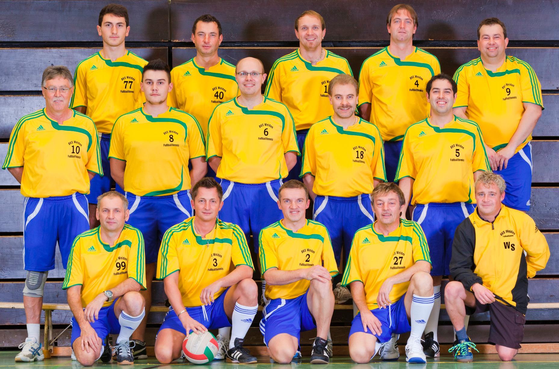 Mannschaftsfoto BVS Weiden