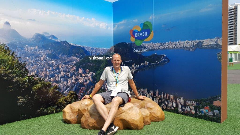 Tino Höbold in Rio