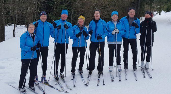 Bayerische- und Bezirksmeisterschaft Ski Nordisch in Lohberg/Scheiben im Bayerischen Wald