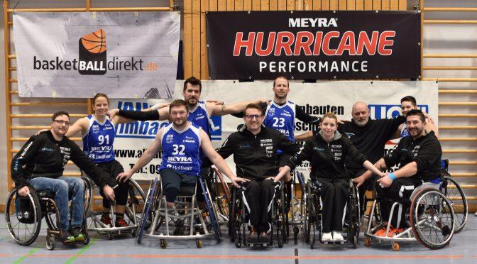 Regionalliga-Heimspieltag der Rollactiv Baskets OPf 1 in Amberg