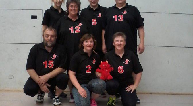 Deutsche Meisterschaft Flugball in Karlsruhe