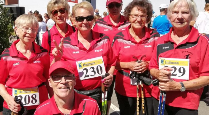 Nordic-Walking-Event in Weidenberg