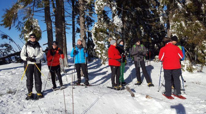 Schneeschuh-Wanderung des BVS Bayern – Bezirk Oberpfalz