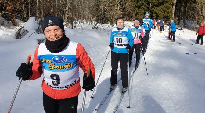 Offene Bayerische- und Bezirks-Meisterschaft Ski Nordisch im LLZ Lohberg/Scheiben