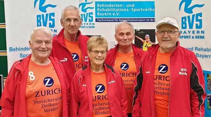 Bayerische Meisterschaft Hallenboccia in Weidenberg